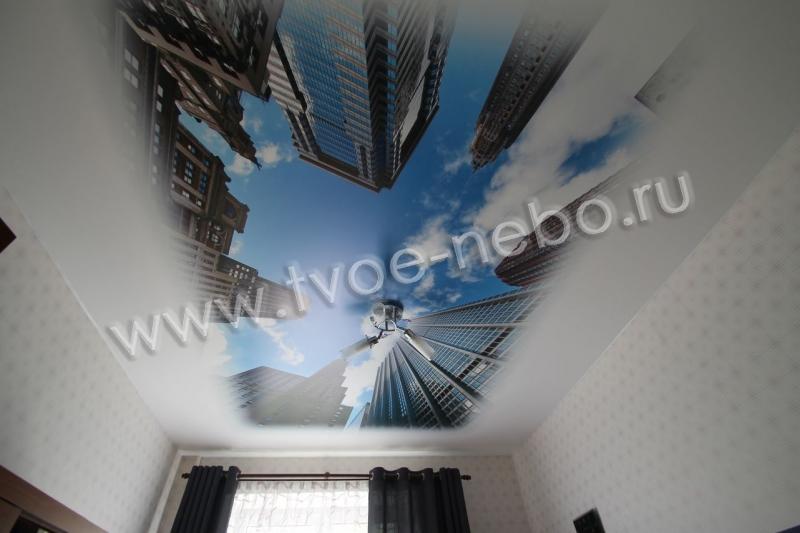 Натяжные потолки фотопечать с цветами фото и