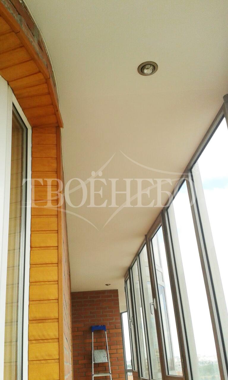 Натяжные потолки на балконе и лоджии..